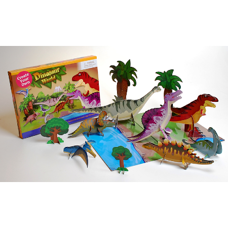 Dinosaur world set