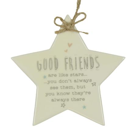 Good friends plaque