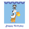Children's birthday cards bumper pack