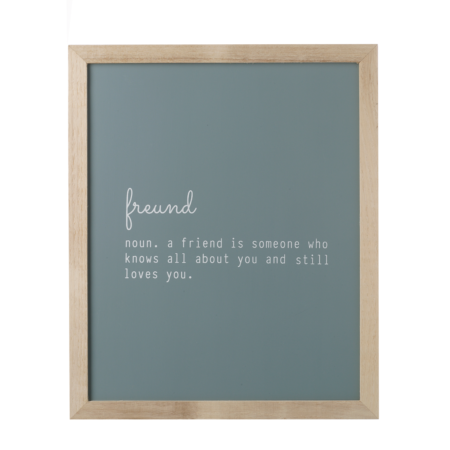 Friend quote frame