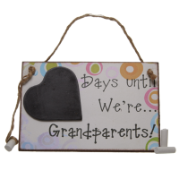 Days until… we're grandparents!