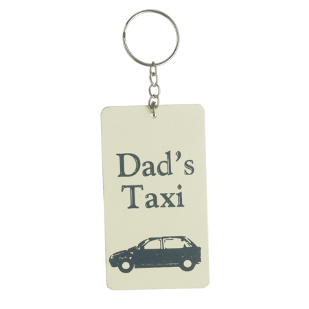 Dads taxi keyring