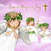 Peace, hope and joy star - 10 cards