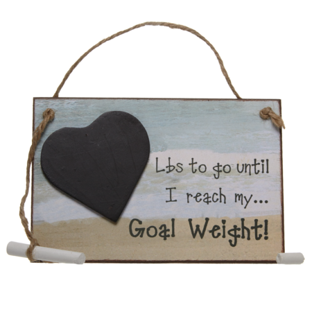 Lbs until… I reach my goal weight!