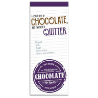 Chocolate shopping list