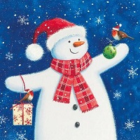 Happy snowman - 10 cards