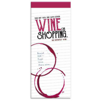 Wine shopping list