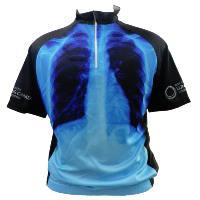 X-ray cycling jersey
