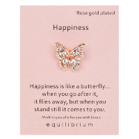 Happiness brooch