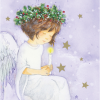 Silent night - 10 cards
