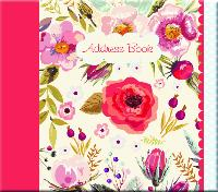 Vintage Blooms address book