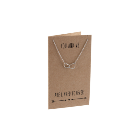 You and me' necklace