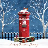 Sending Christmas greetings - 10 cards