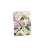 Soft petals padded diary