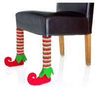 Pair of elf feet chair leg covers