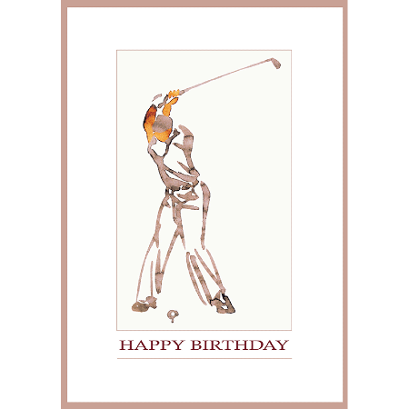 Birthday Golf - Inspired Gift