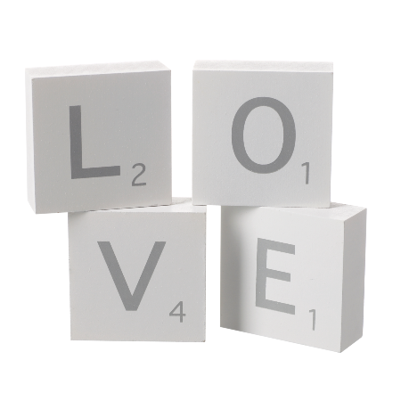 Love letter blocks