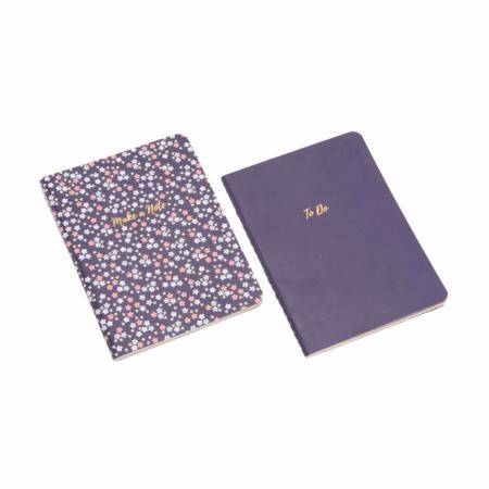 A6 set of two quote notebooks