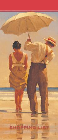 Jack Vettriano shopping list