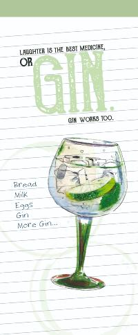 Gin shopping list