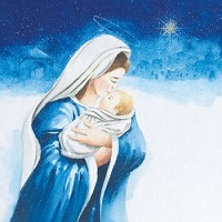 Madonna and child - 10 cards