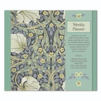 William morris weekly planner