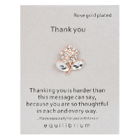Thank you brooch