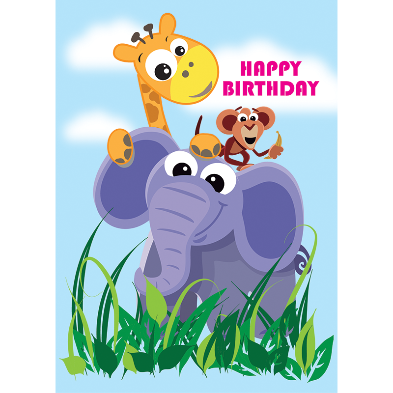 Childrens birthday cards tiredriveeasy childrens birthday cards bookmarktalkfo Gallery