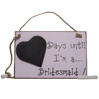 Days until... I'm a bridesmaid!