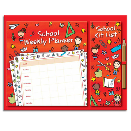 School Magnetic Planner Set