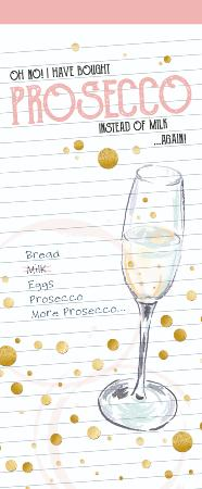 Prosecco shopping list