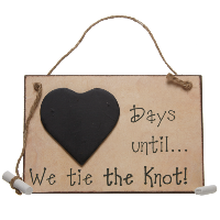Days until... we tie the knot!