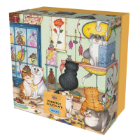 Purrfect Chocolate' 500 piece jigsaw